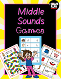 Middle Sounds Phonemic Games and Activities