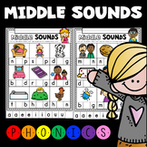Middle Sounds Printable ~ Introductory Phonics and Pre-Reading Skills