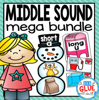 Middle Sounds Match-Up Mega Bundle