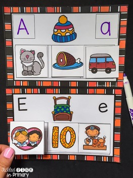 Middle Vowel Sounds Matching