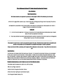Middle School US History Project with Rubrics