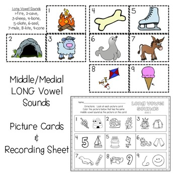 Middle Vowel Sounds