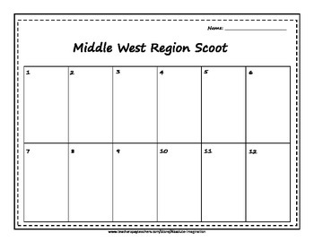 Middle West/Midwest Region Scoot