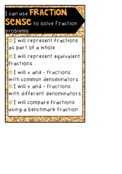 Middle Years Mental Computation (MYMC) Math Goals Pack