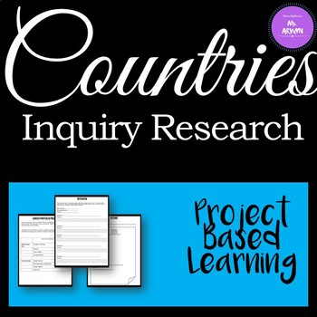 Inquiry Project - Learn About Countries of the World!