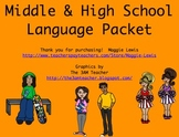 Middle and High School Language