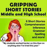 Middle and High School Reading Comprehension Fiction Spook