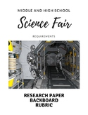 Middle and High School Science Fair Organization