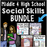 Middle and High School Social Skills Bundle