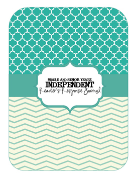 Middle and Senior Years Independant Reading Response Journals