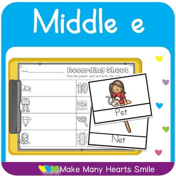 Middle E Worksheets and Cards      MMHS17