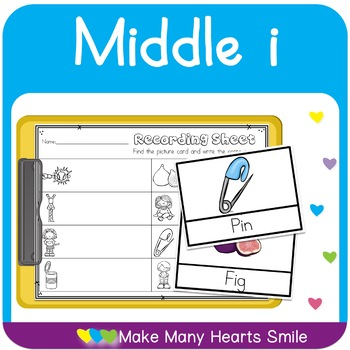Middle i Worksheets and Cards