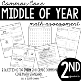 Middle of Year Common Core Math Assessment