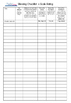 Middle of Year Student Data Checklists