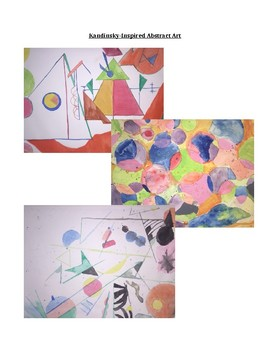 Middle or High School Art Project: Abstract Art Using Everyday Objects