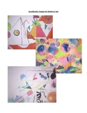 Middle or High School Art Project: Abstract Art Using Ever