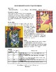 Middle or High School Art Project: Cubist Cartoon Character Drawing
