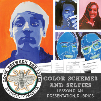 Middle or High School Art and Technology Lesson: Color Schemes and Selfies