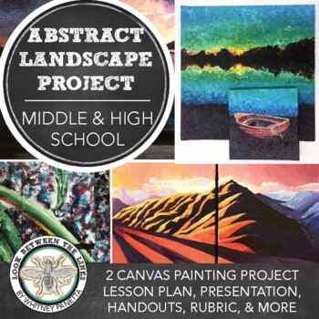 Middle or High School Introduction to Abstract Art: Acrylic Painting