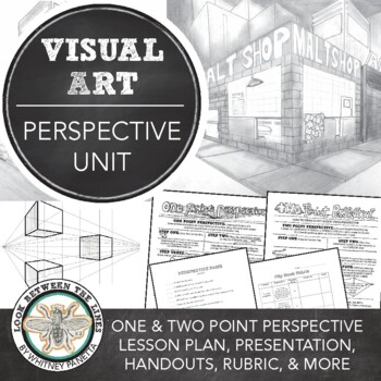 Middle or High School Perspective Unit: One Point and Two Point Perspective