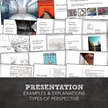 Drawing Basics Perspective Unit: One & Two Point Perspective in Visual Art
