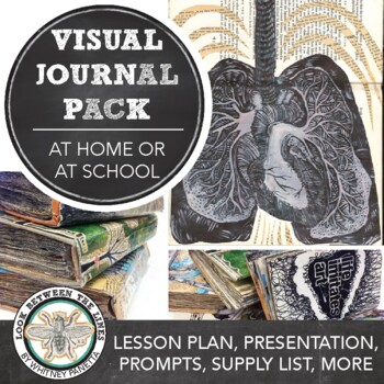 Middle or High School Visual Art E-Learning Project: Visual Journal at Home