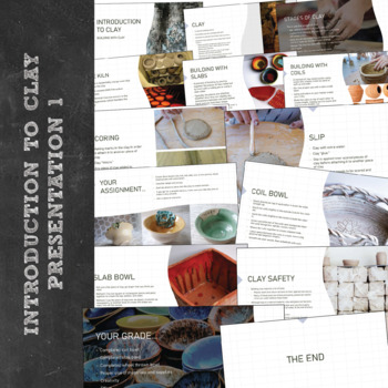 Middle or High School Visual Arts: Introduction to Sculpture and Ceramics