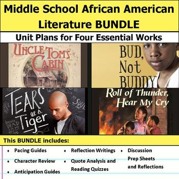 Middle School African American Literature Unit Bundle