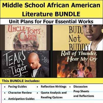 Middle School African American Literature Unit Bundle