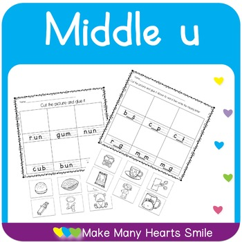 Middle U Worksheets and Cards