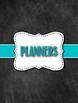 Middle/High School Chalkboard Theme Teacher Binder - Editable