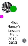 Middle/High School Themed Lesson Plan Template