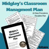 Midgley's Classroom Management Plan