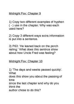 the midnight fox teaching resources teachers pay teachers rh teacherspayteachers com Black Fox Midnight Fox Face Fox