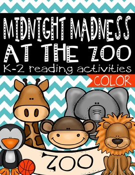 Midnight Madness at the Zoo Activities (Color)