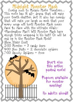 Midnight Monster Mash Functional Text