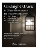 Midnight Music in Three Movements for Intermediate Woodwin