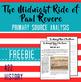 Midnight Ride of Paul Revere Primary Source Analysis FREEBIE