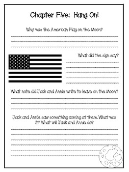 Midnight on the Moon: A Magic Tree House Study (27 Pages)