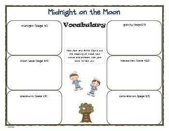 Midnight on the Moon - MTH Common Core bookstudy