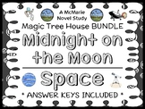 Midnight on the Moon | Space Fact Tracker: Magic Tree House BUNDLE  (51 pages)