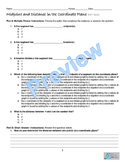 Midpoint & Distance Formula- Bundle Homework, Quiz, Graphic Org. Online Resource