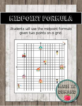 Midpoint Formula Activity