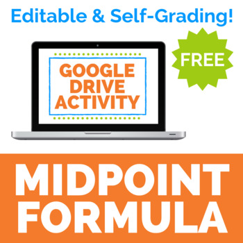Midpoint Formula Digital Activity for Google Drive