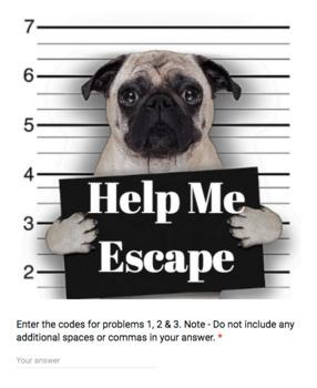 Midpoint Formula – Bad Dog Breakout for Google Classroom!