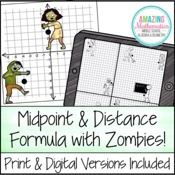 Midpoint Distance Formula Activity By Amazing Mathematics Tpt