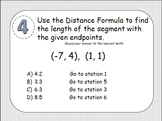 Midpoint Formula, Distance Formula & Pythagorean Theorem S
