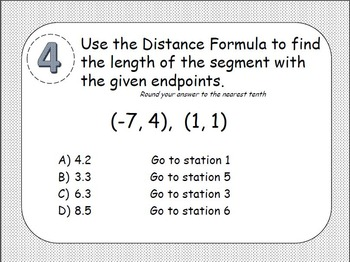 Midpoint Formula, Distance Formula & Pythagorean Theorem S