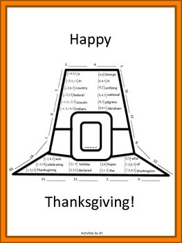 Midpoint Formula for Thanksgiving