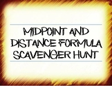 Midpoint and Distance Formula Scavenger Hunt- Distance Lea
